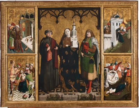 Screenshot_2019-12-03 Ołtarz św Barbary - część środkowa - św Barbara, św Feliks, św Adaukt, cztery sceny z żywota św Barba[...].png