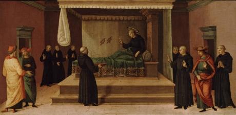 Pietro_Perugino_-_Saint_Nicholas_of_Tolentino_Restoring_Two_Partridges_to_life_-_25.146_-_Detroit_Institute_of_Arts.jpg