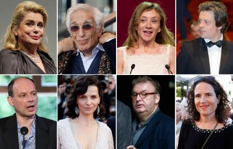 Catherine-Deneuve-Gerard-Darmon-Sylvie-Testud-Benjamin-Biolay-Denis-Podalydes-Juliette-Binoche-Dominique-Besnehard-et-Mazarine-Pingeot.jpg