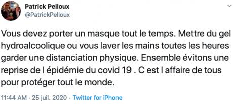 Screenshot_2020-07-27 Patrick Pelloux sur Twitter Vous devez porter un masque tout le temps Mettre du gel hydroalcoolique o[...].png