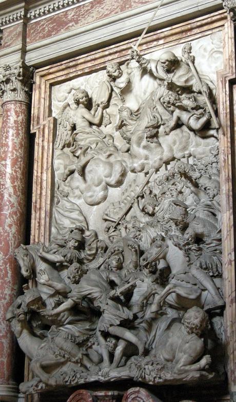 601px-S.m._del_carmine,_int.,_cappella_corsini,_g.b._foggini,_s.andrea_corsini_guida_i_fiorentini_alla_battaglia_di_anghiari,_1685-87.JPG