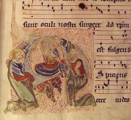 Antiphonarium Benedictinum (1400) Saint-Lambrecht univ Graz.jpg