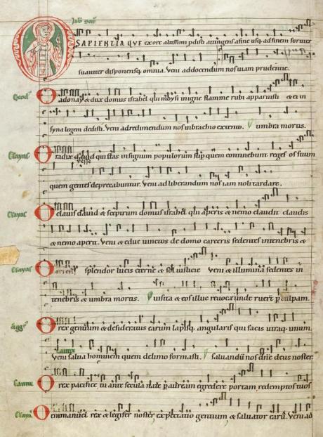 Antiphonaire bénédictin de Reichenau XII.png