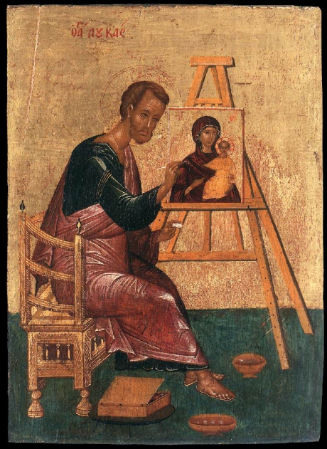 Unknown_painter_-_Luke_Paints_the_Icon_of_the_Mother_of_God_Hodegetria_-_WGA23494.jpg